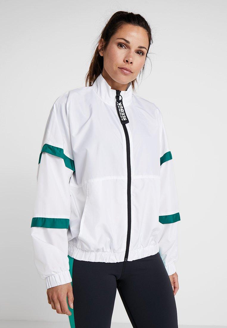 Reebok - JACKET - Sportovní bunda - white