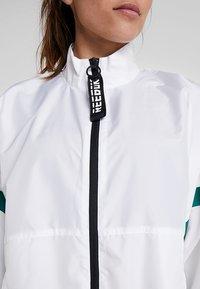 Reebok - JACKET - Training jacket - white - 5