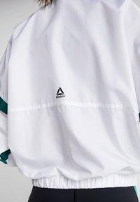 Reebok - JACKET - Training jacket - white - 3