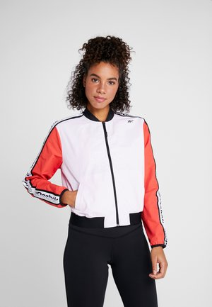 ELEMENTS TRAINING TRACKSUIT - Tracksuit - pink