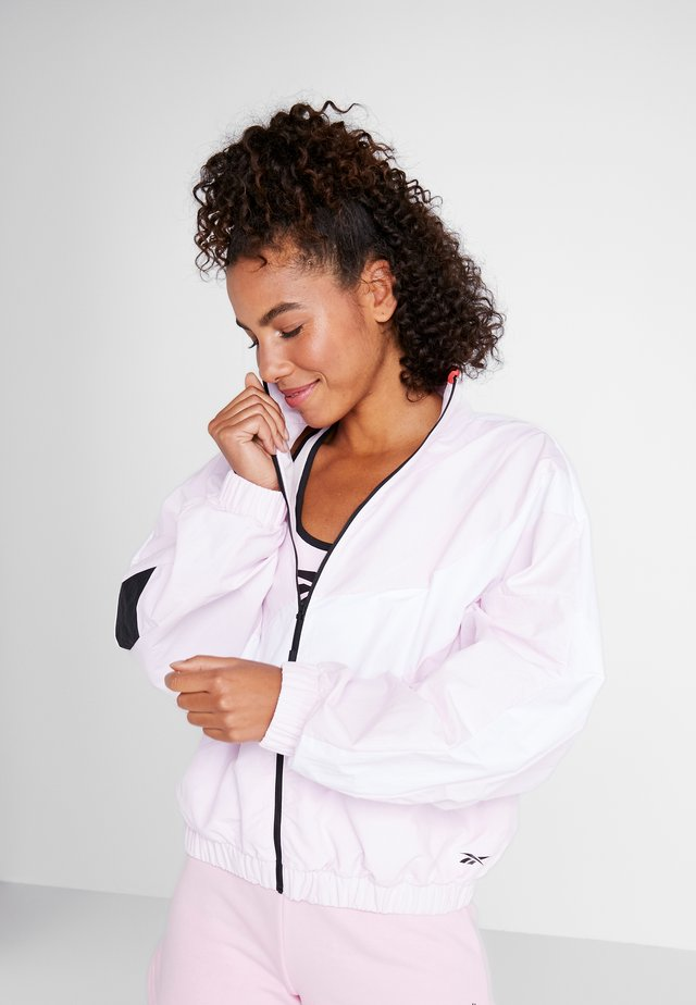 JACKET - Trainingsjacke - pink