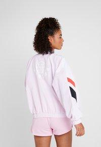 Reebok - JACKET - Sportovní bunda - pink - 2