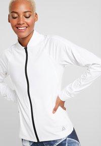 Reebok - TRACK JACKET - Training jacket - white - 3