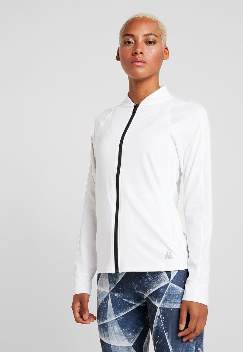 Reebok - TRACK JACKET - Training jacket - white