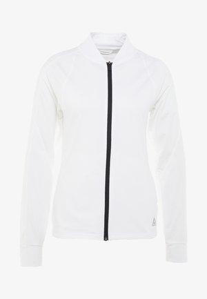 TRACK JACKET - Sportovní bunda - white