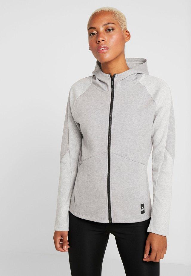 QUIK FULLZIP - Mikina na zip - medium grey heather