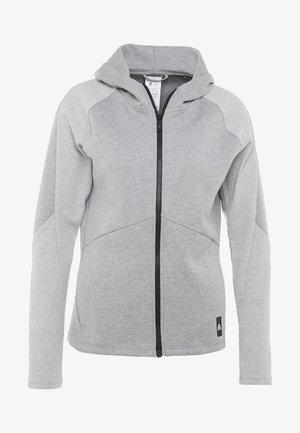 QUIK FULLZIP - Hoodie met rits - medium grey heather