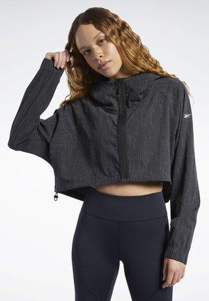 CROP JACKET - Training jacket - black