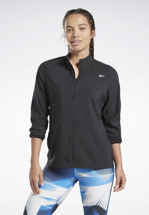 RUNNING ESSENTIALS WIND JACKET - Träningsjacka - black