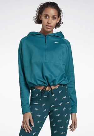 WORKOUT READY JACKET - Hoodie - seaport teal
