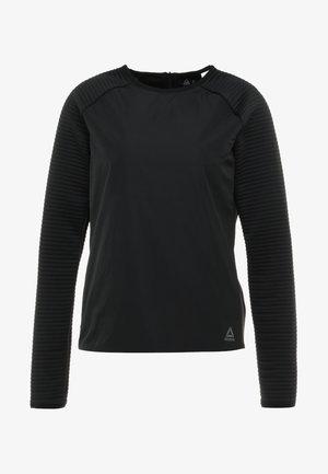THERMO CREW NECK - Felpa - black