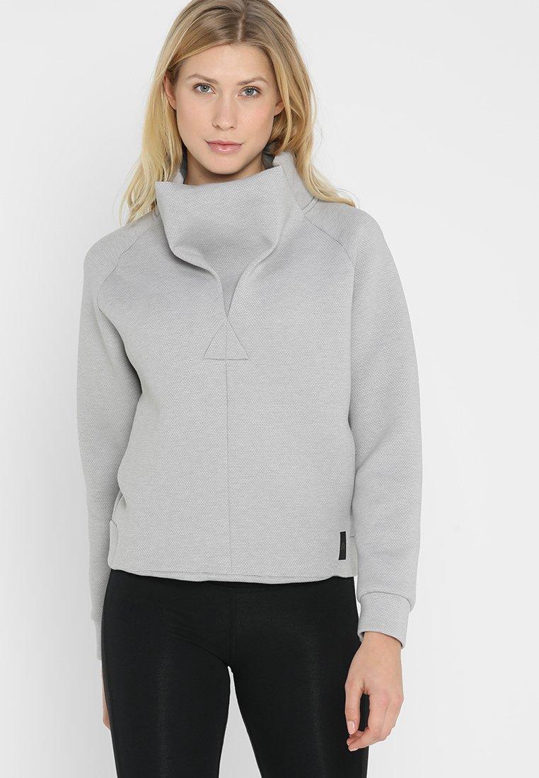 Reebok - COWL NECK - Sweatshirt - grey