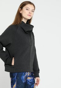 Reebok - COWL NECK - Sweatshirts - black - 0