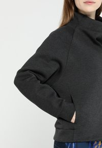 Reebok - COWL NECK - Sweatshirts - black - 4