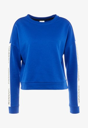 TRAINING ESSENTIALS PULLOVER - Mikina - cobalt