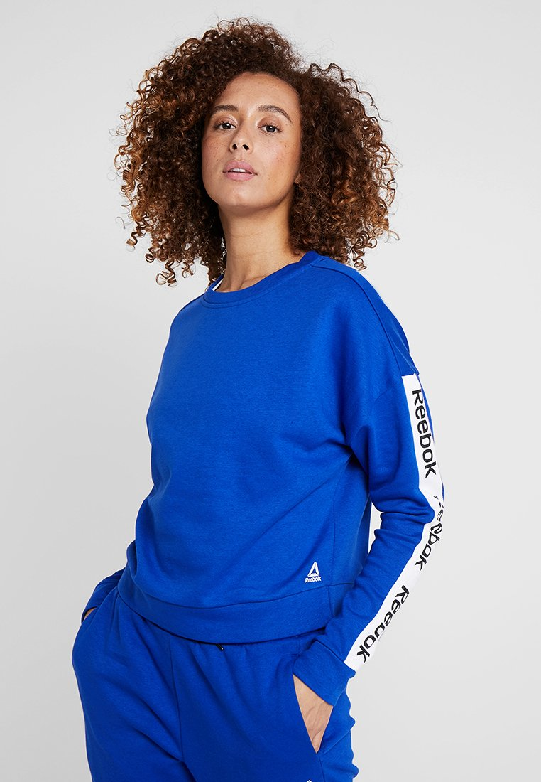 Reebok - TRAINING ESSENTIALS PULLOVER - Mikina - cobalt