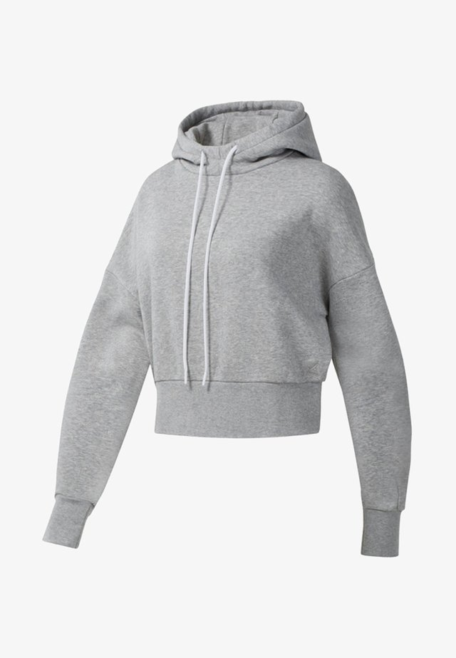 FASHION HOODIE - Luvtröja - medium grey heather