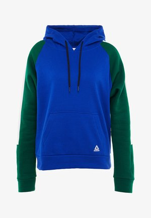 COLORBLOCKED COVERUP - Sweat à capuche - cobalt