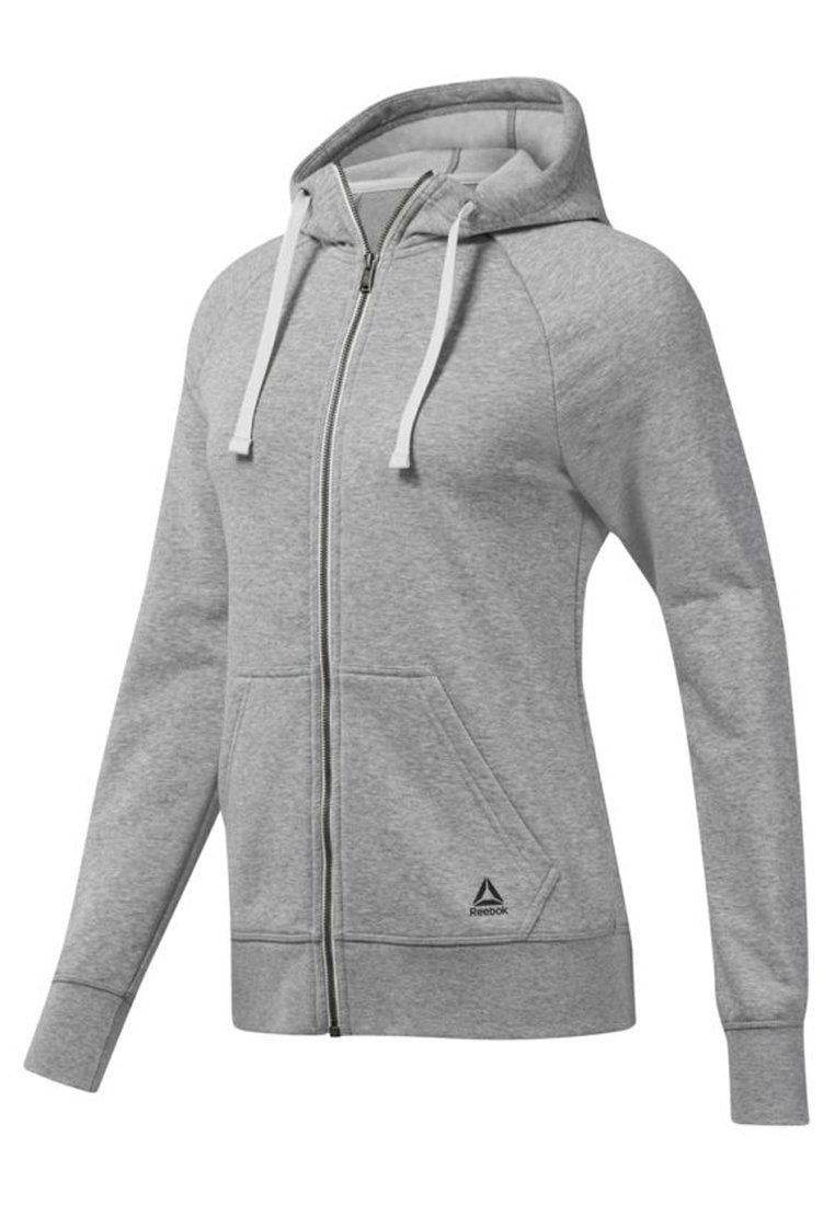 GAP Maternity NEW ESSENTIAL BRUSHED ZIP HOODIE - Hettejakke - heather grey