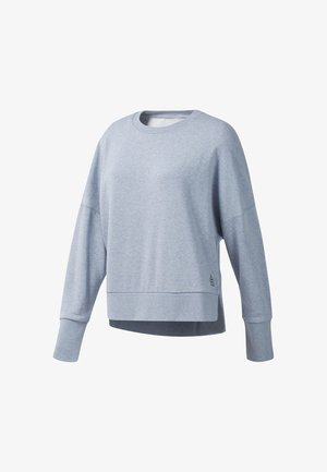 Sweatshirt - denim dust melange
