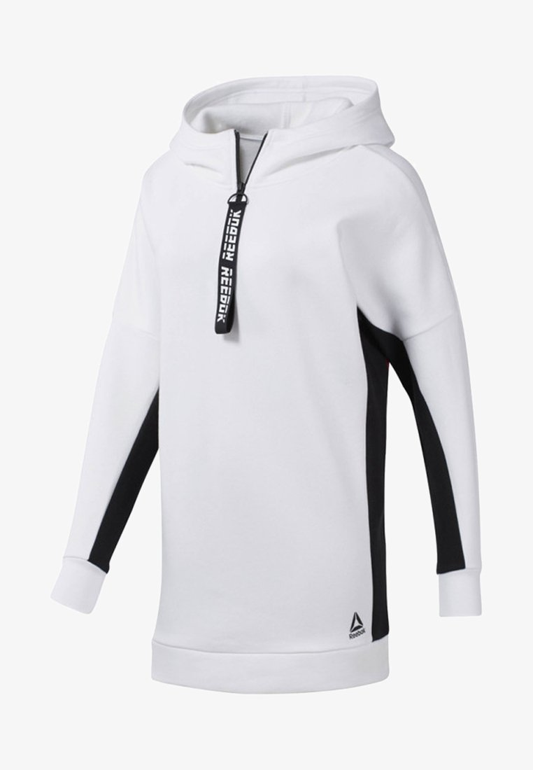 Reebok - MEET YOU THERE OVERSIZE COVER-UP - Sweatshirts - white