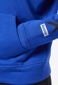 Reebok - TRAINING ESSENTIALS FULL ZIP SWEATSHIRT - Hoodie met rits - blue - 3