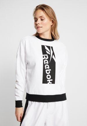 WORKOUT READY SPORT LONG SLEEVE PULLOVER - Sudadera - white