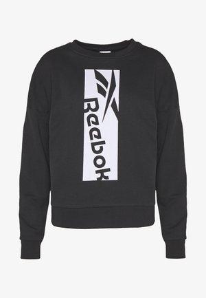 WORKOUT READY SPORT LONG SLEEVE PULLOVER - Sweatshirt - black