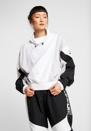 COVER UP - Windbreaker - white
