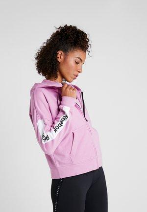 LINEAR LOGO FULLZIP - Sweatjakke /Træningstrøjer - pink