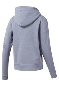Reebok - TRAINING ESSENTIALS SWEATSHIRT - Hettejakke - blue - 1
