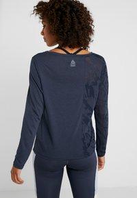 Reebok - T-shirt de sport - heritage navy - 2