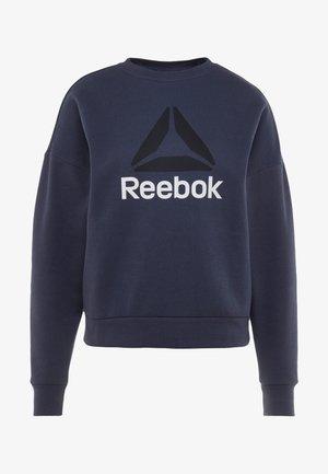 WOR BIG LOGO COVERUP - Sweatshirt - heritage navy