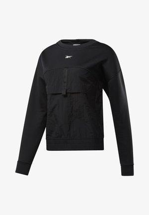 MIDLAYER CREW SWEATSHIRT - Bluza - black