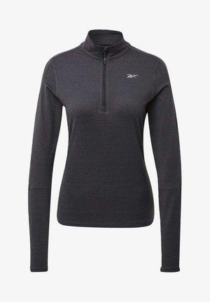 RUNNING ESSENTIALS SWEATSHIRT - Fleece jumper - black