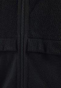 Reebok - QUIK COTTON HOODIE - veste en sweat zippée - black - 6
