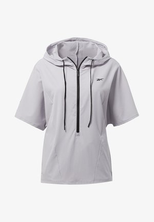 UNITED BY FITNESS WOVEN PULLOVER - Training jacket - sterling grey
