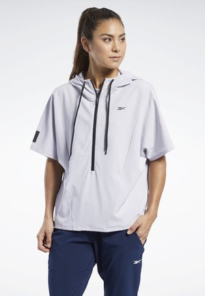 UNITED BY FITNESS WOVEN PULLOVER - Trainingsjacke - sterling grey