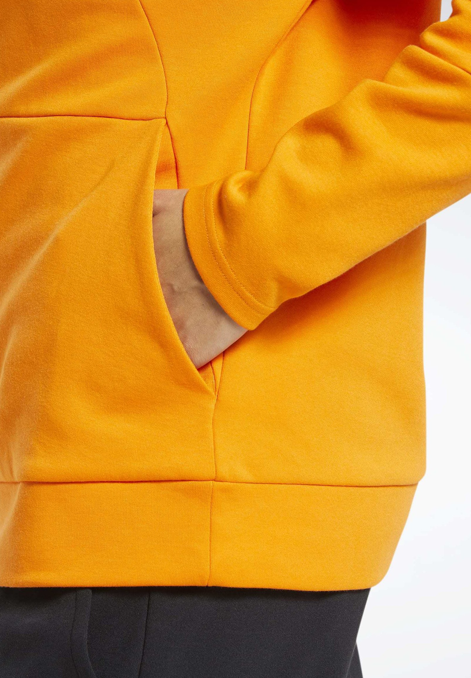 Reebok QUIK COTTON VECTOR HOODIE Sweat à capuche orange
