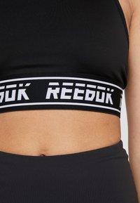 Reebok - BRALETTE - Sport BH - black - 5