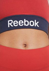 Reebok - TRAINING BRA - Reggiseno sportivo - red - 3