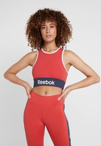 Reebok - TRAINING BRA - Reggiseno sportivo - red - 0
