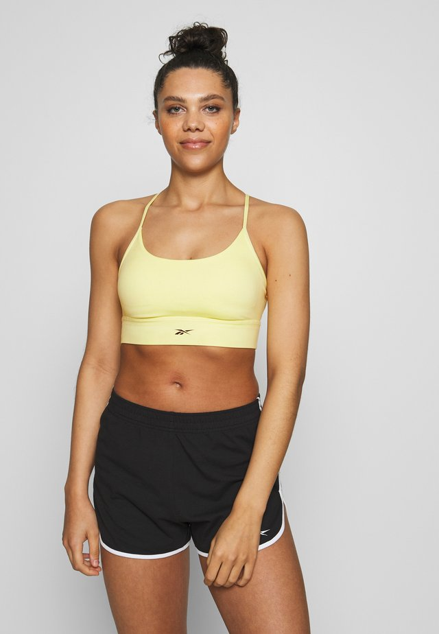 WORKOUT READY WORKOUT BRA LIGHT SUPPORT - Sports-bh'er - light yellow