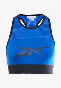 Reebok - WOR BRALETTE - Sports bra - blue - 3