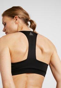 Reebok - BRA PADDED - Sports bra - black - 4