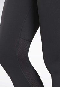 Reebok - RUNNING ESSENTIALS TIGHTS - Tights - black - 4