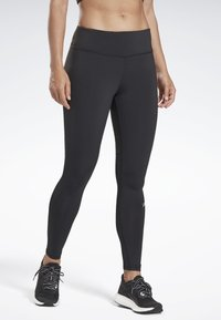 Reebok - RUNNING ESSENTIALS TIGHTS - Tights - black - 0