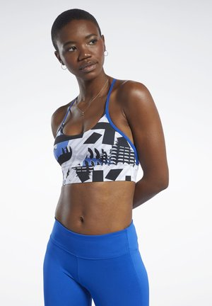 MEET YOU THERE LOW-IMPACT BRA - Soutien-gorge de sport - humble blue
