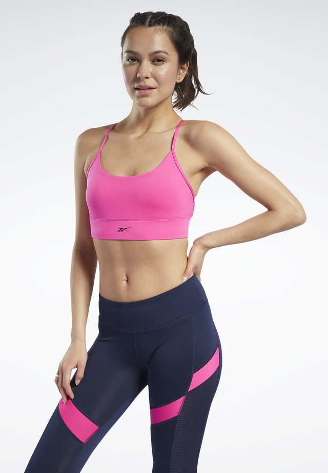 WORKOUT READY LOW-IMPACT TRI BRA - Sport BH - pink