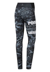 Reebok - LUX TIGHTS - Leggings - black - 1